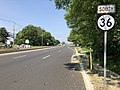 2018-05-25 15 19 34 View south along New Jersey State Route 36 just south of Monmouth County Route 516 (Middle Road) in Hazlet Township, Monmouth County, New Jersey.jpg