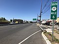 2018-07-19 09 41 32 View south along New Jersey State Route 17 at Division Avenue in Carlstadt, Bergen County, New Jersey.jpg
