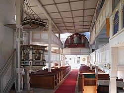 20181030375DR Dittersbach (Dürrröhrsdorf-Dittersbach) Kirche Orgel.jpg