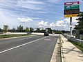 2019-08-19 14 27 57 View north along U.S. Route 29 and east along Virginia State Route 237 (Lee Highway) at the exit for the Interstate 495 Express Lanes SOUTH in Merrifield, Fairfax County, Virginia.jpg