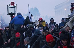 Trump Extreamists storm the United States Capitol, From WikimediaPhotos