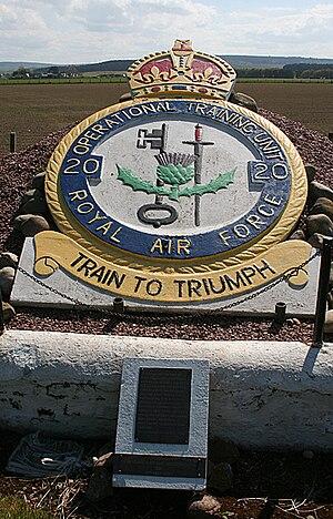 RAF Lossiemouth - 20 OTU Memorial at Bogs of Mayne.