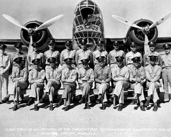 21st Reconnaissance Squadron - B-18 Bolo
