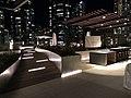 221 Main Street Terrace - Night View - Entry and Trellis Amenity.jpg