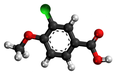 3-chloro-p-anisic acid3D.png