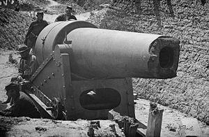 Morris Island, South Carolina. 300-pounder Par...