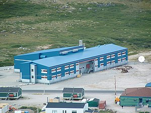 Kativik School Board - Ulluriaq School in Kangiqsualujjuaq