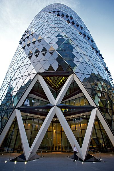Best lattice shell structures skyscrapercity for Norman foster strutture
