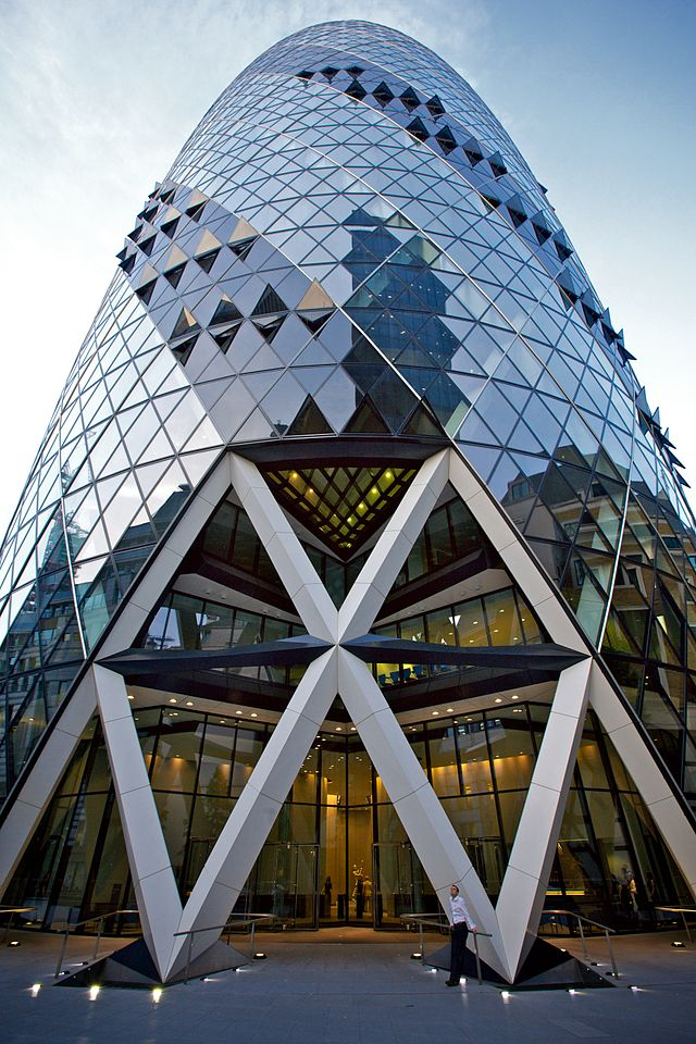 The Gherkin Swiss Re Tower
