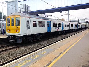 Thameslink, Southern and Great Northern franchise - Thameslink service at St Albans