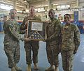 402nd AFSB cases colors, prepares for mission to support U.S. Army Pacific Command 150729-A-DU199-003.jpg