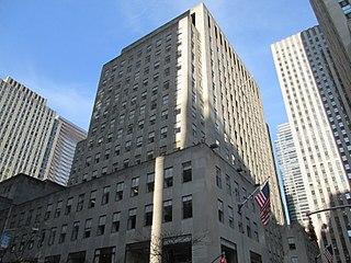 50 Rockefeller Plaza building in New York City
