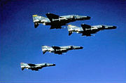 561st Tactical Fighter Squadron - F-4G Phantom II formation