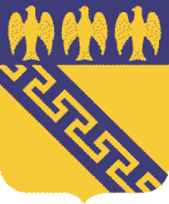 59th Infantry Regiment (United States) - Coat of arms
