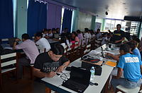 5th Waray Wikipedia Edit-a-thon 16.JPG