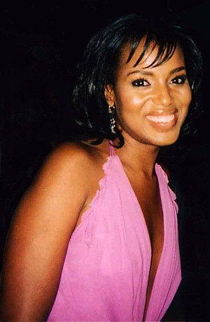 Kerry Washington - Washington at the New York premiere of She Hate Me in 2004
