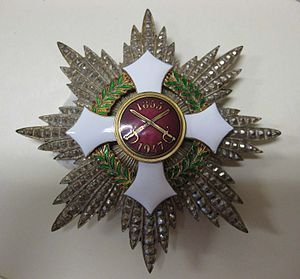 66-50-D Medal, Badge, Italy, Knight Grand Cross of the Military Order of Italy.jpg