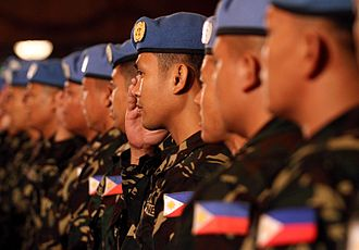 United Nations Disengagement Observer Force - Philippine contingent to the Golan Heights