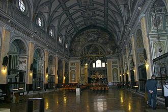 Sant'Angelo (Milan) - Nave