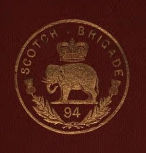 94th Regiment of Foot - Badge of the 94th Regiment of Foot