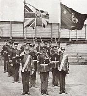 9th DLI colour party 1909