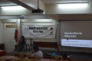 9th Waray Wikipedia Edit-a-thon 06.JPG
