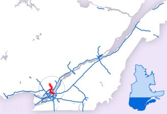 Quebec Autoroute 25 - Image: A 25