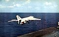 A-3B of VAH-4 after a bolter on USS Ticonderoga (CVA-14) in 1963.jpg