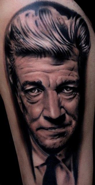 Black-and-gray - Image: A045 afferni tattoo ritratto portrait