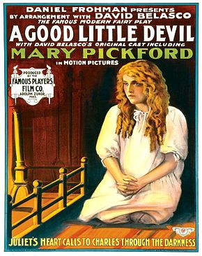 Description de l'image A Good Little Devil - 1914 - poster.jpg.