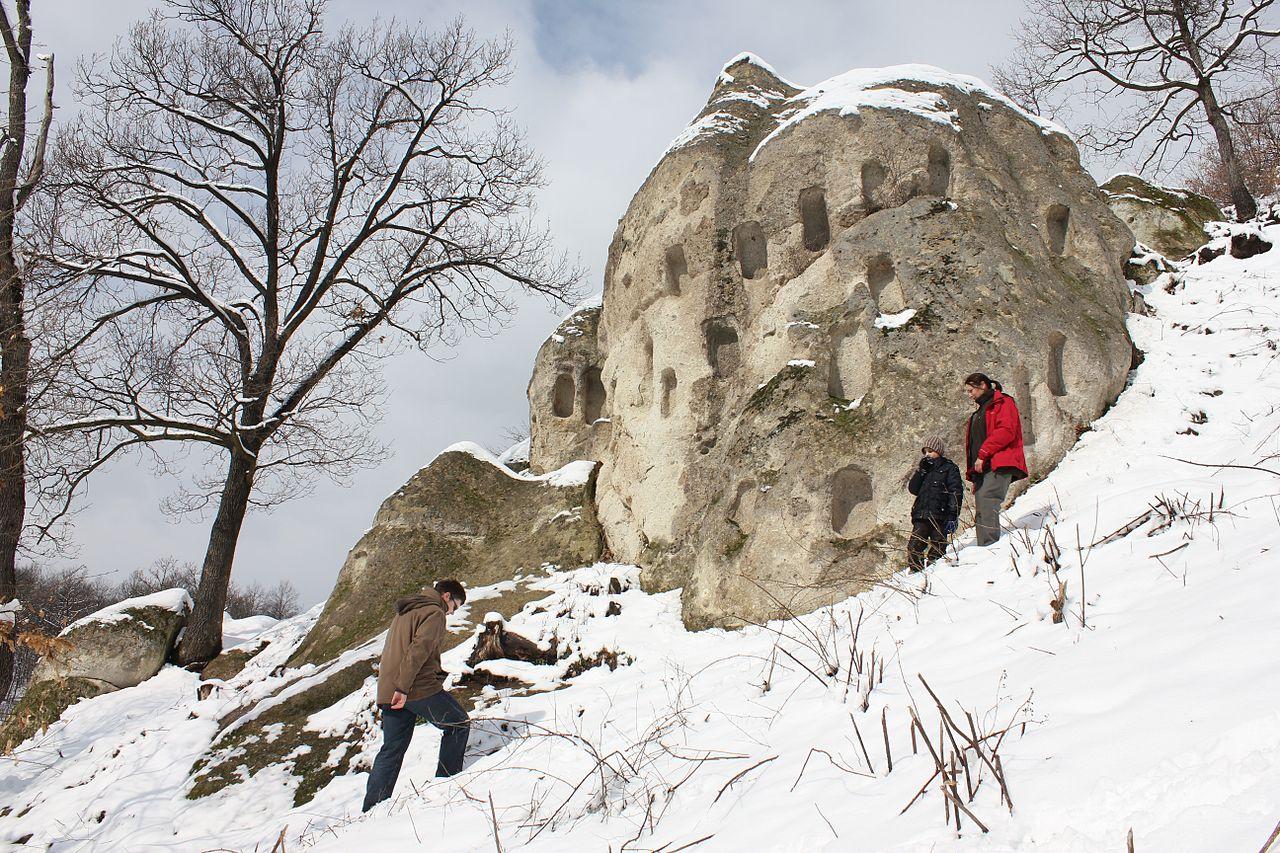 A Királyszéke télen (Baráz Csaba)