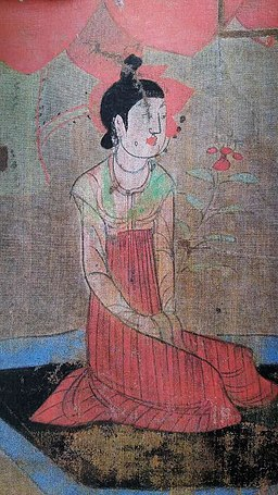 A T'ang Dynasty Woman with Flower