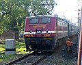 A WAP-4 SRC, with Mumbai - Howrah Mail (Via NGP).JPG