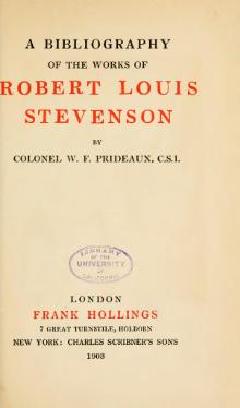 A bibliography of the works of Robert Louis Stevenson.djvu