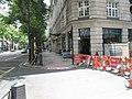 A blocked off Great Queen Street - geograph.org.uk - 885560.jpg