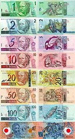 Reais Banknotes From The First Series