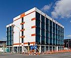 A building at the corner of Colombo and Salisbury Street, Christchurch, New Zealand 09.jpg