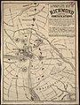 A complete map of Richmond and its fortifications within a circle of 12 miles showing the numerous forts, batteries and the range of their fire, and the various obstacles that impede the approach of the Federal army ... (5121146314).jpg