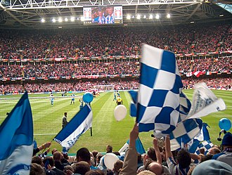 2004–05 FA Cup - The Millennium Stadium during the Arsenal v Blackburn semi-final, April 16, 2005
