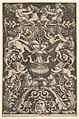 A panel of ornamnet with putti, goat and other figures MET DP824555.jpg