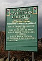 A sign at Castle Park Golf Club - geograph.org.uk - 1187257.jpg