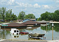 A simulated flooded housing community can be seen at the Muscatatuck Urban Training Center at Camp Atterbury, Ind., July 29, 2012, during exercise Vibrant Response 13 120729-F-HS649-244.jpg