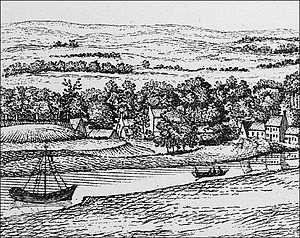 Eochaid, son of Rhun - Image: A view of the banks of the Clyde taken from York Hill