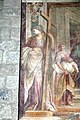 Abbazia di San Salvatore (Abbadia San Salvatore), Cappella della Madonna della Pieve, affreschi di Francesco Nasini e Antonio Annibale Nasini 07.jpg