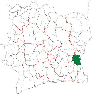 Abengourou Department Department in Comoé, Ivory Coast