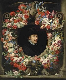 Abraham Brueghel - Sculptural Cartouche with Garland.jpg