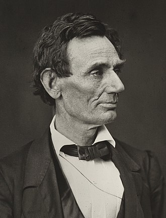 1860 United States presidential election in California - Image: Abraham Lincoln O 26 by Hesler, 1860 (cropped)