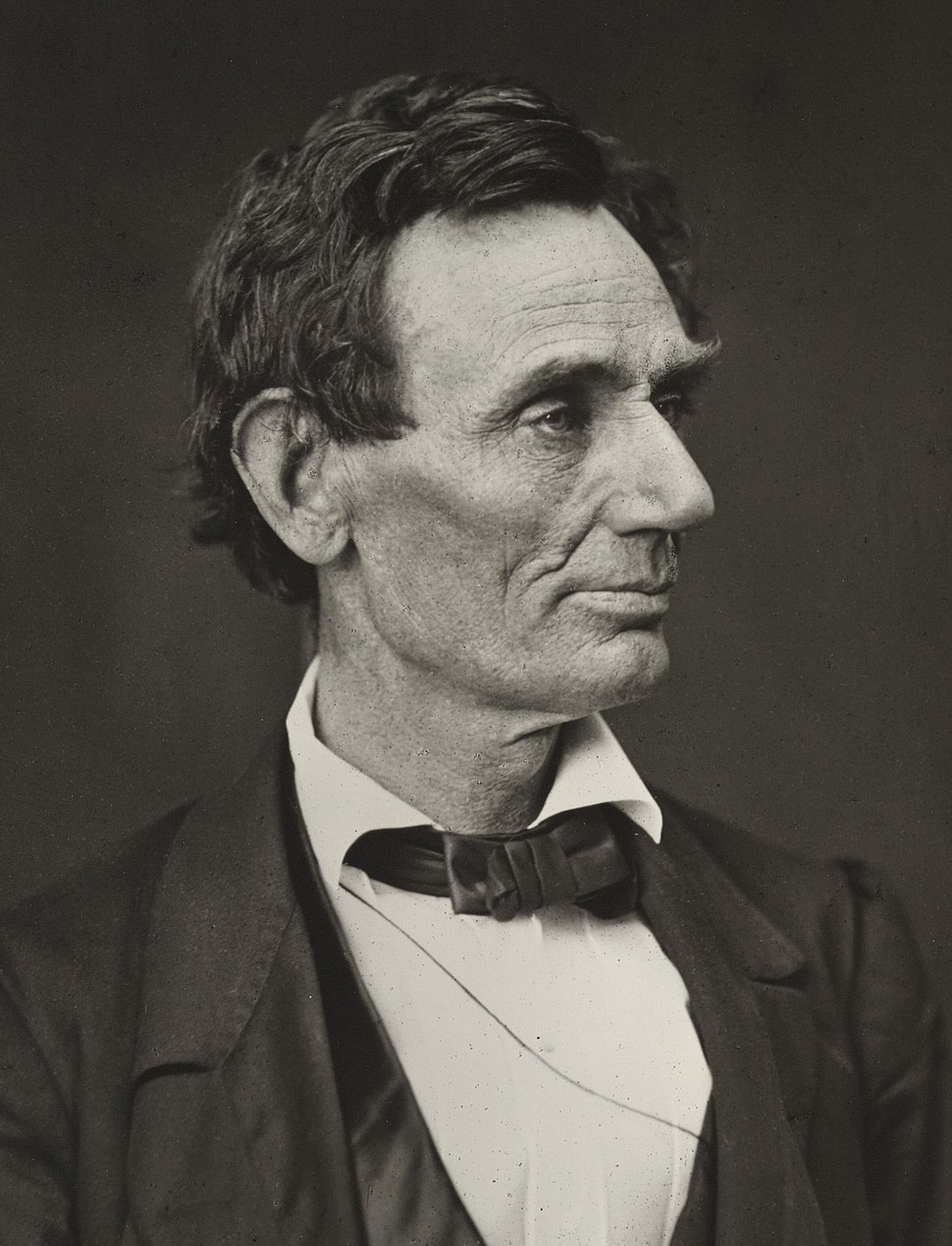 Abraham Lincoln O-26 by Hesler, 1860 (cropped)