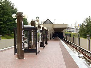 Blue Line (Washington Metro) - Addison Road station