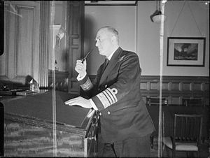 Admiral Kennedy-Purvis as Deputy First Sea Lord during World War II